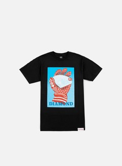 Diamond Supply - Ice T-shirt, Black 1