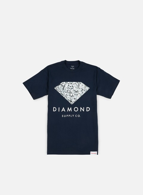 Outlet e Saldi T-shirt a Manica Corta Diamond Supply Infinite T-shirt