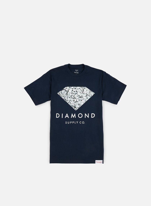 Diamond Supply - Infinite T-shirt, Navy