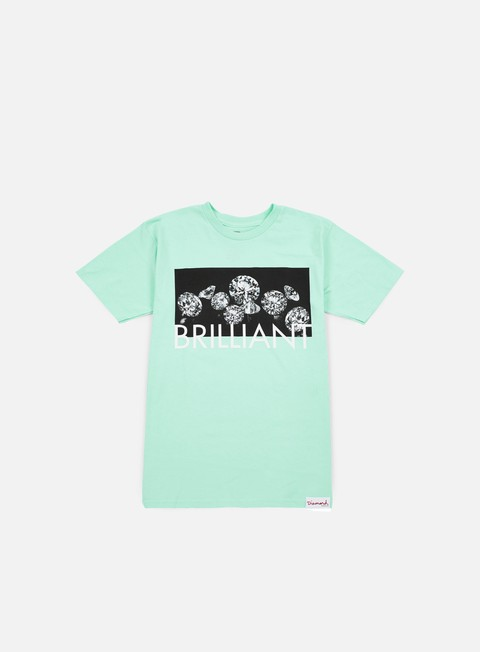 Short sleeve T-shirts Diamond Supply Jewels T-shirt