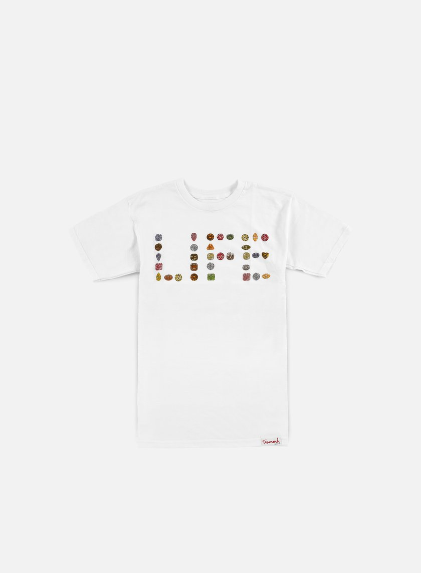 Diamond Supply - Life Diamond T-shirt, White