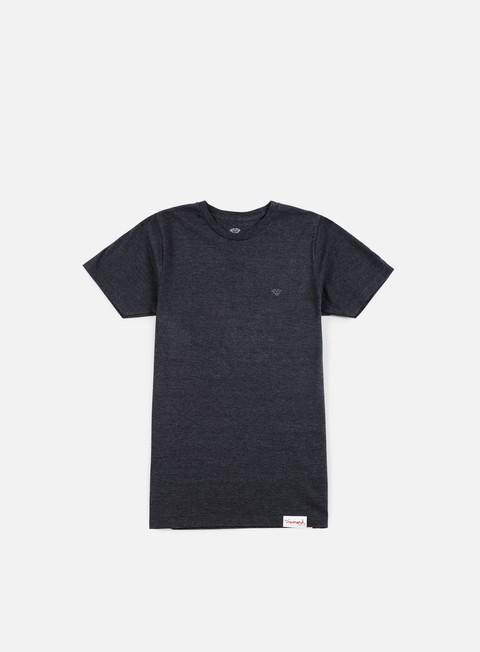 t shirt diamond supply micro brilliant t shirt black