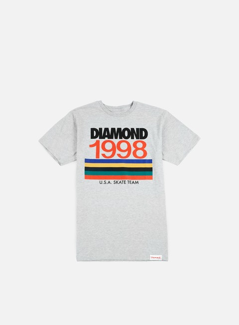 t shirt diamond supply nineties t shirt heather grey