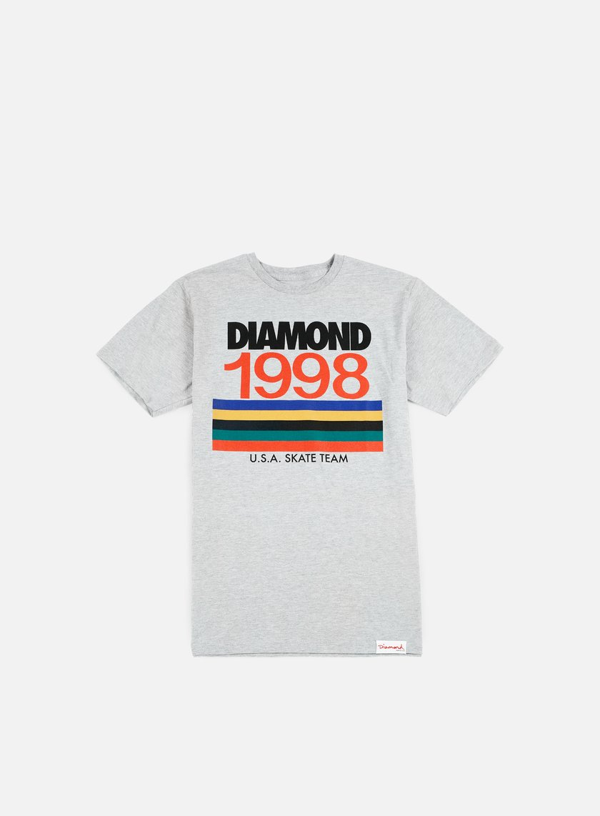Diamond Supply - Nineties T-shirt, Heather Grey