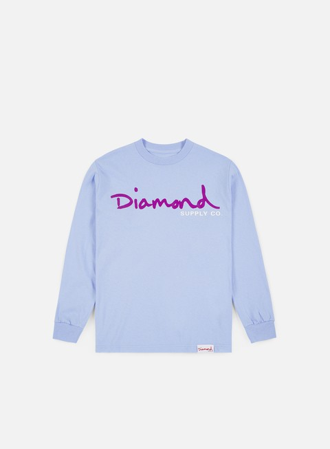 Diamond Supply OG Script LS T-shirt