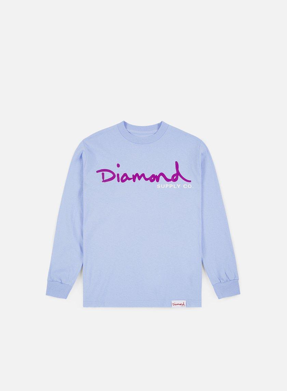 Diamond Supply Co OG Script T-shirt Lavender