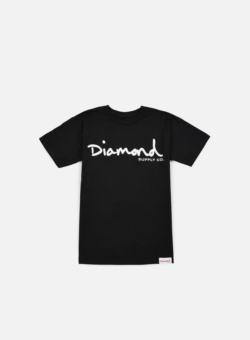 Diamond Supply - OG Script T-shirt, Black
