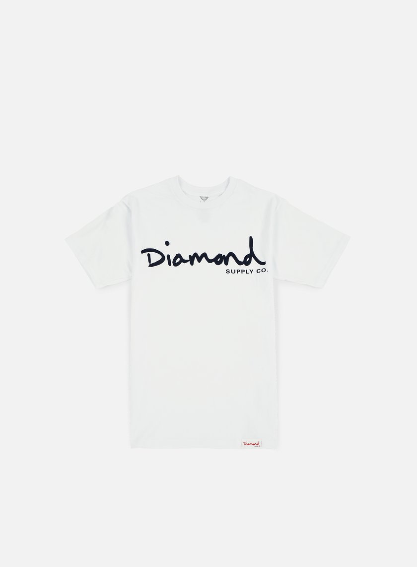 Diamond Supply - OG Script T-shirt, White