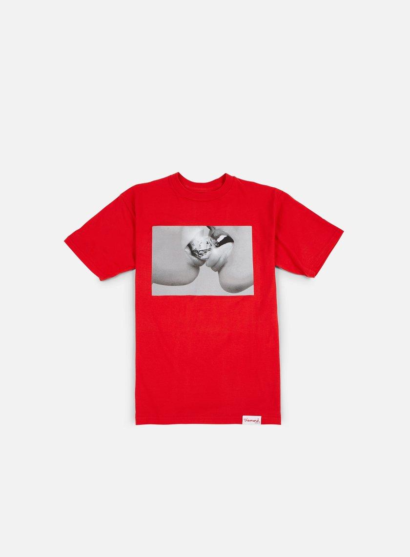 Diamond Supply - Rapture T-shirt, Red