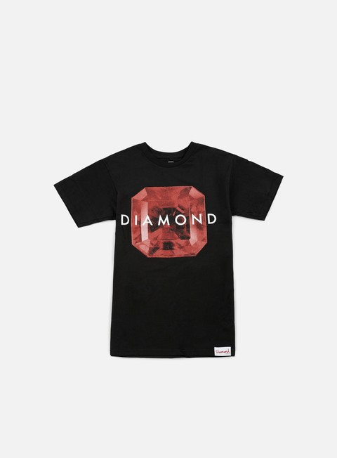 Short Sleeve T-shirts Diamond Supply Rare Gem T-shirt