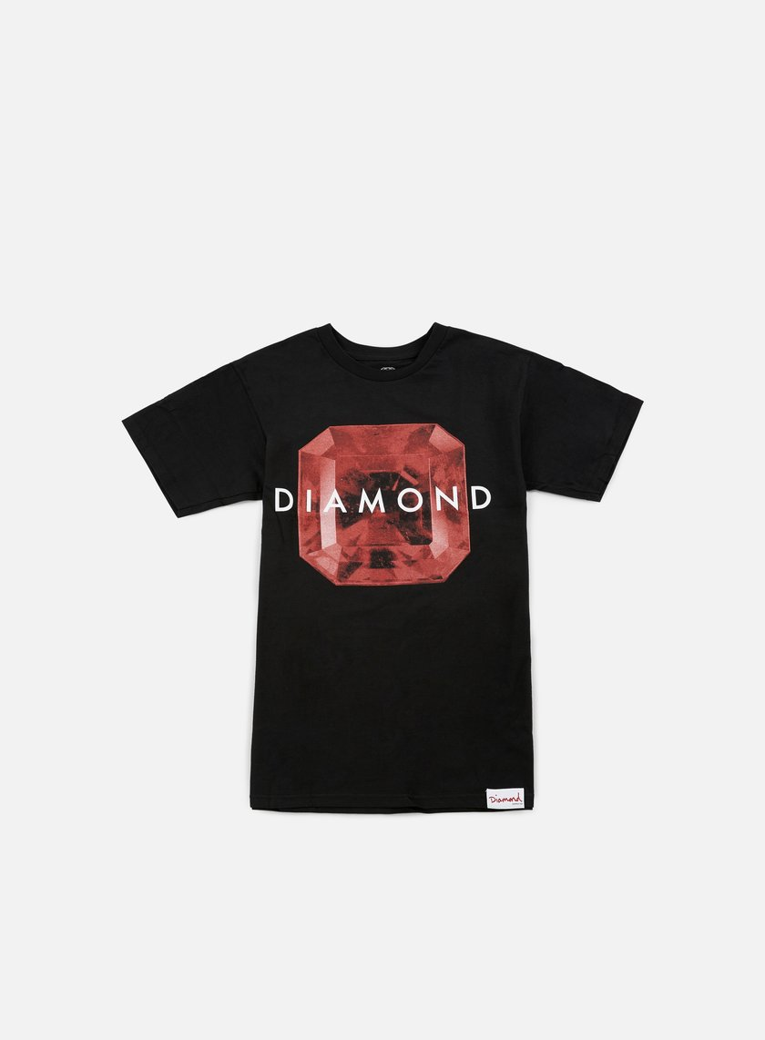 Diamond Supply - Rare Gem T-shirt, Black