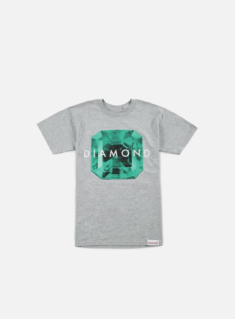 t shirt diamond supply rare gem t shirt heather grey