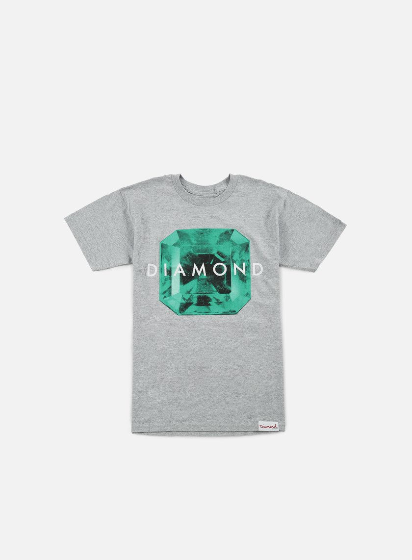 Diamond Supply - Rare Gem T-shirt, Heather Grey