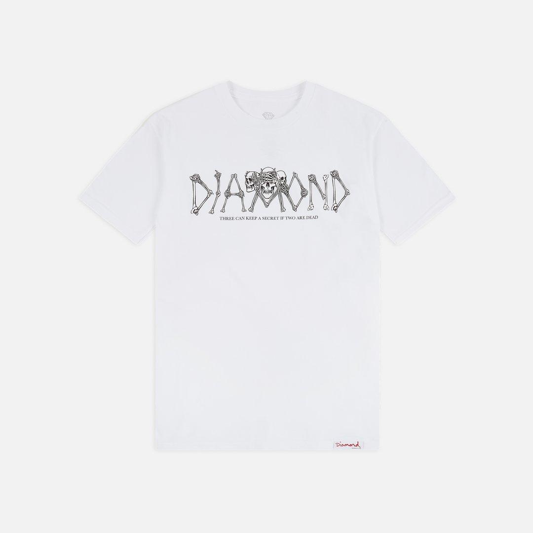 Diamond Supply Secrets Die Tee in Black
