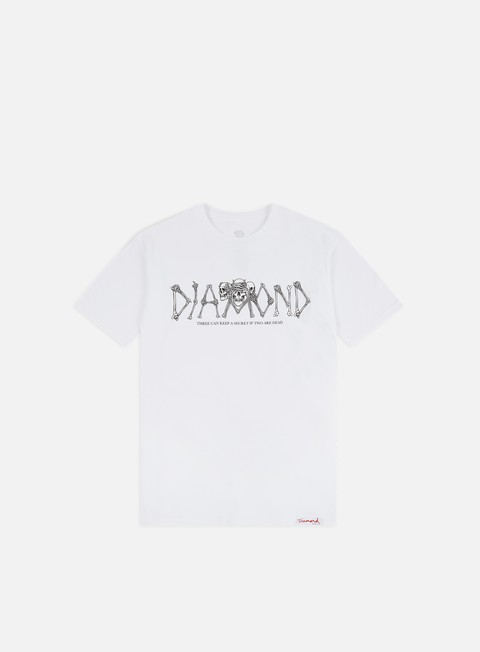 Outlet e Saldi T-shirt a Manica Corta Diamond Supply Secrets Die T-shirt