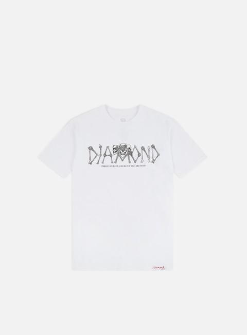 Outlet e Saldi T-shirt a Manica Corta Diamond Supply Secrets Die T-shirt
