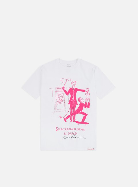 T-shirt a Manica Corta Diamond Supply Skate Crime T-shirt