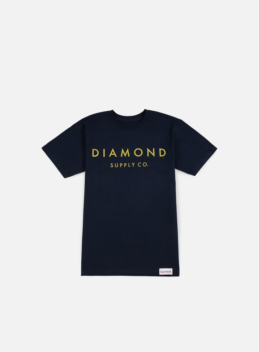 Diamond Supply - Stone Cut T-shirt, Navy