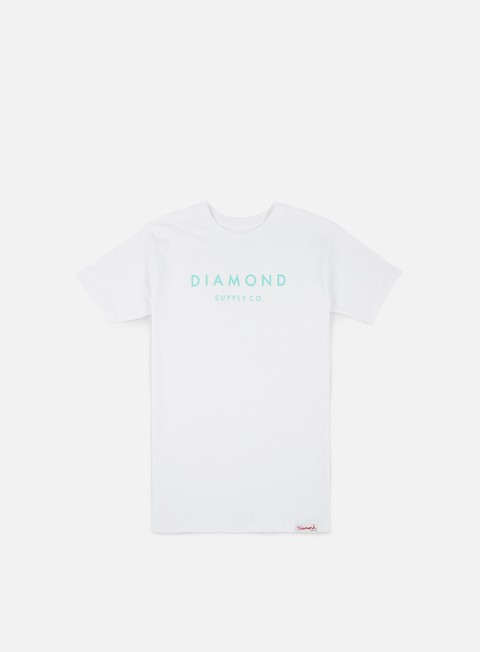 Short Sleeve T-shirts Diamond Supply Stone Cut T-shirt