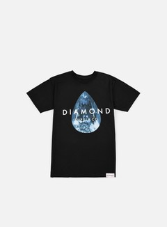 Diamond Supply - Teardrop T-shirt, Black/Blue 1
