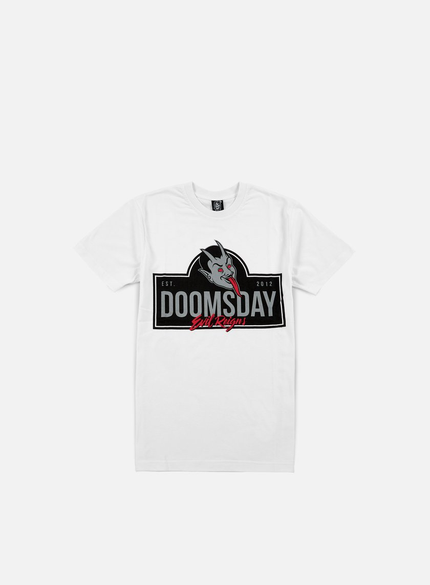 Doomsday - Acid Demon T-shirt, White