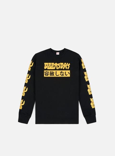 Outlet e Saldi T-shirt a Manica Lunga Doomsday Bad News LS T-shirt