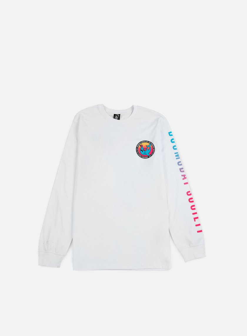 Doomsday - Bait LS T-shirt, White