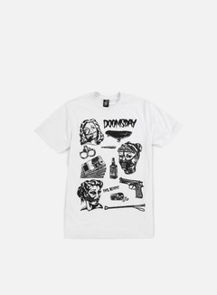 Doomsday - Bondage Flash T-shirt, White 1