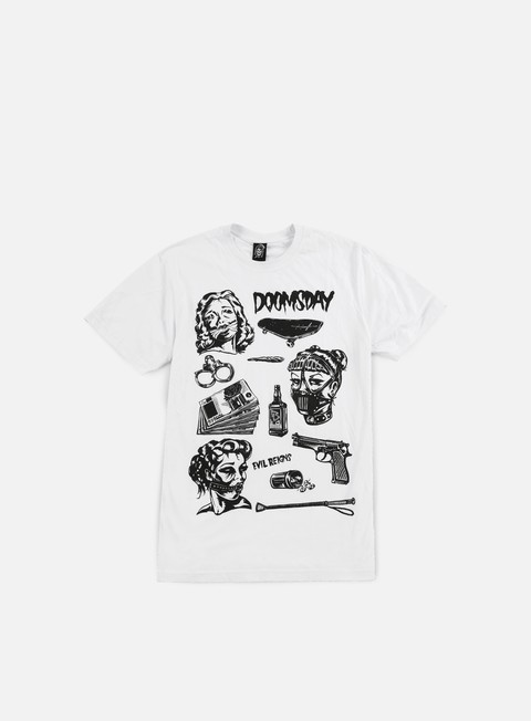 Short Sleeve T-shirts Doomsday Bondage Flash T-shirt