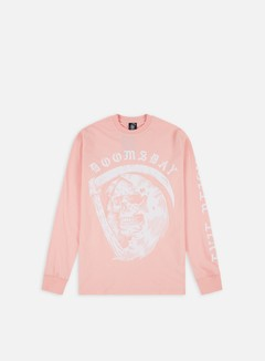 Doomsday - D As Death LS T-shirt, Pink 1