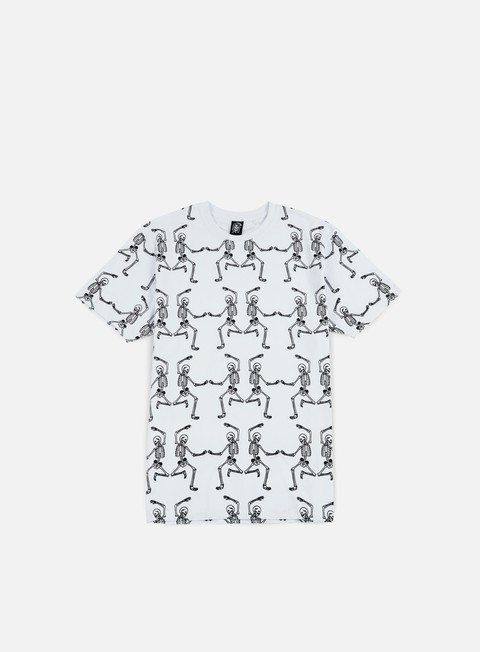 T-shirt con Stampa All Over Doomsday Dancing Skeletons T-shirt