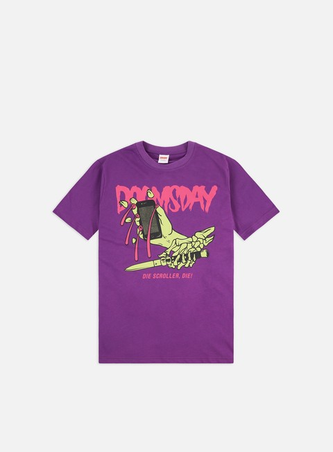 T-shirt a Manica Corta Doomsday Die Scroller Die T-shirt