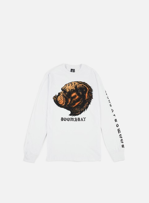 Sale Outlet Long Sleeve T-shirts Doomsday Dog Unit Bulldog LS T-shirt