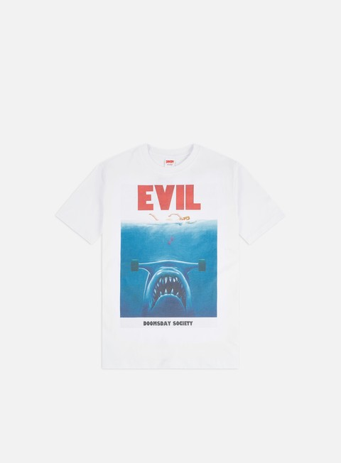Short Sleeve T-shirts Doomsday Evil Jaws T-shirt