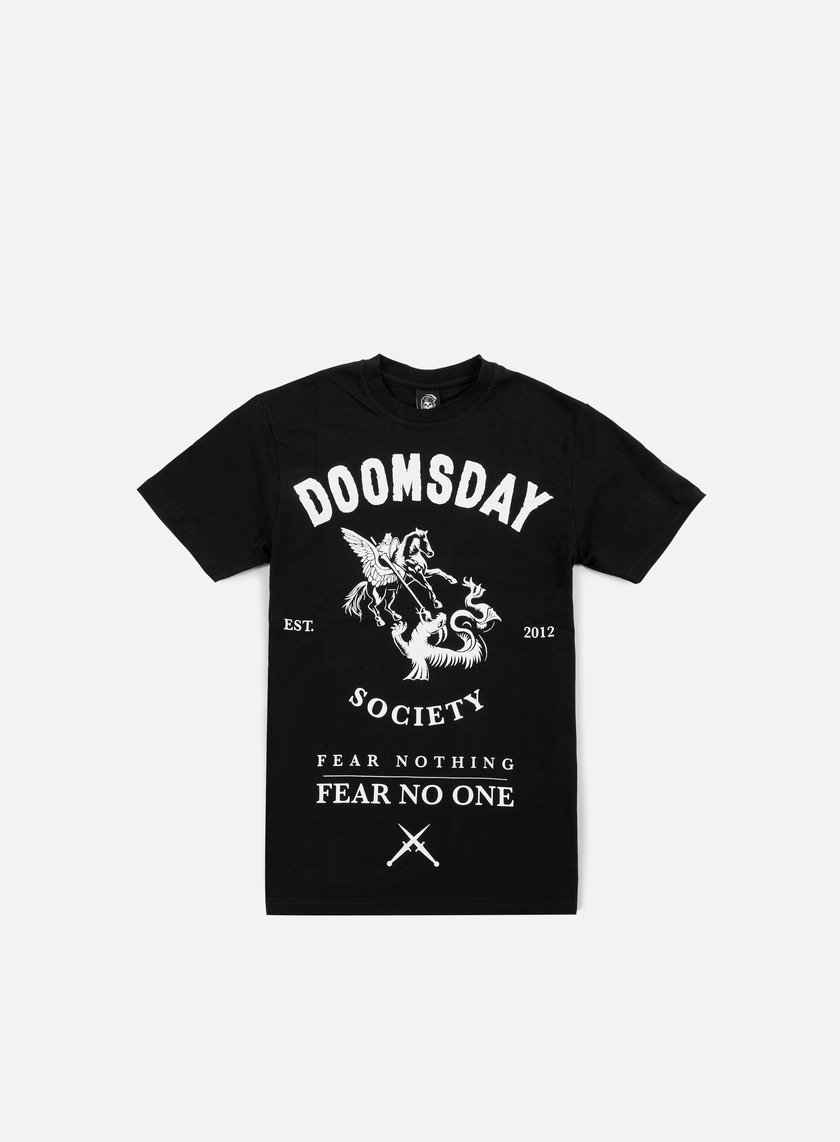 Doomsday - Fear Nothing T-shirt, Black