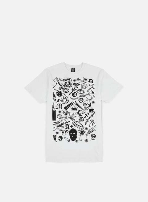 Outlet e Saldi T-shirt a Manica Corta Doomsday Fillers T-shirt