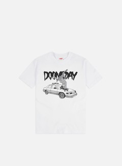 Doomsday - Grind T-shirt, White