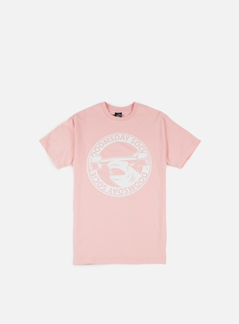 t shirt doomsday hammerhead t shirt pink white