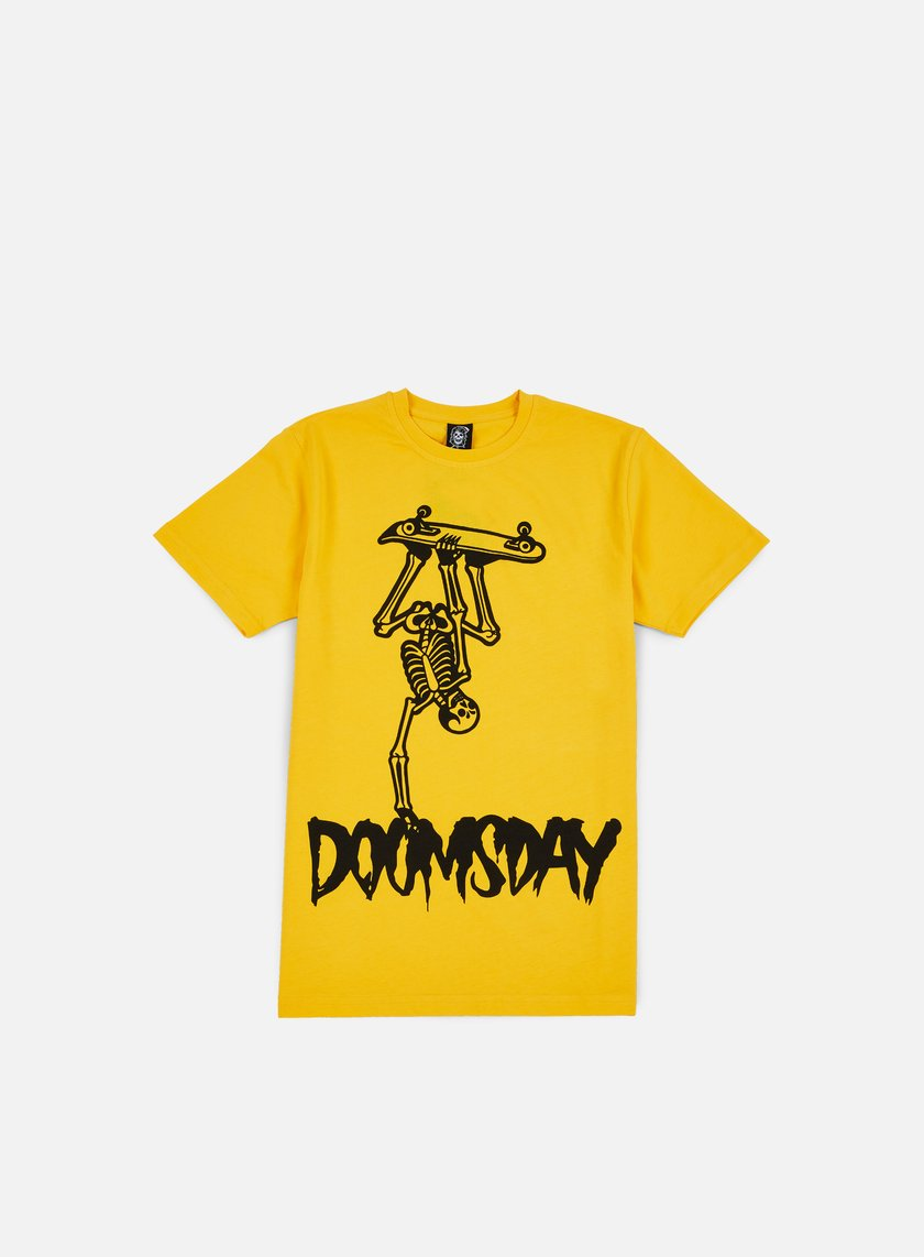 Doomsday - Handplant T-shirt, Yellow