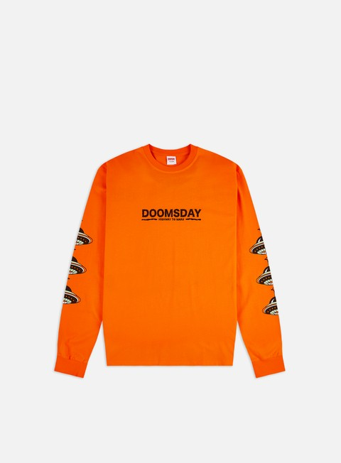 Long Sleeve T-shirts Doomsday Highway To Mars LS T-shirt