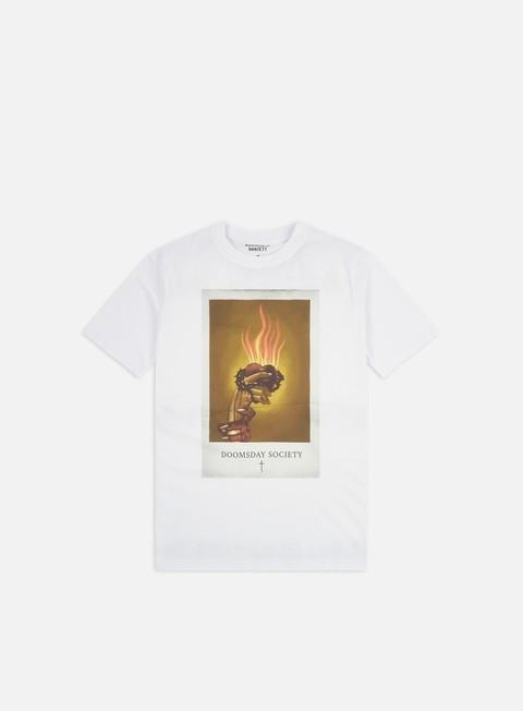 Outlet e Saldi T-shirt a Manica Corta Doomsday Holy Heart T-shirt