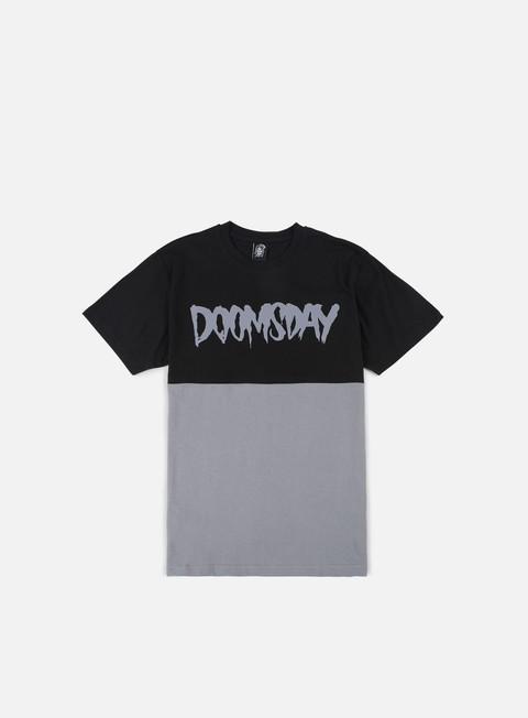 T-shirt a Manica Corta Doomsday Logo 2 Tone T-shirt