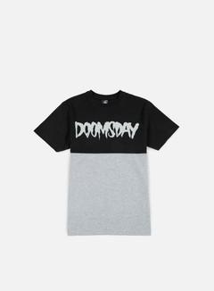 Doomsday - Logo 2 Tone T-shirt, Black/Grey 1