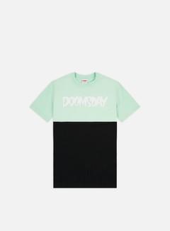 Doomsday - Logo 2 Tone T-shirt, Black/Mint