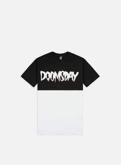 Doomsday - Logo 2 Tone T-shirt, Black/White 1