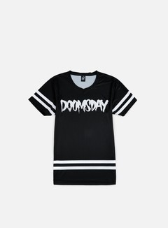 Doomsday - Logo Jersey, Black/White 1