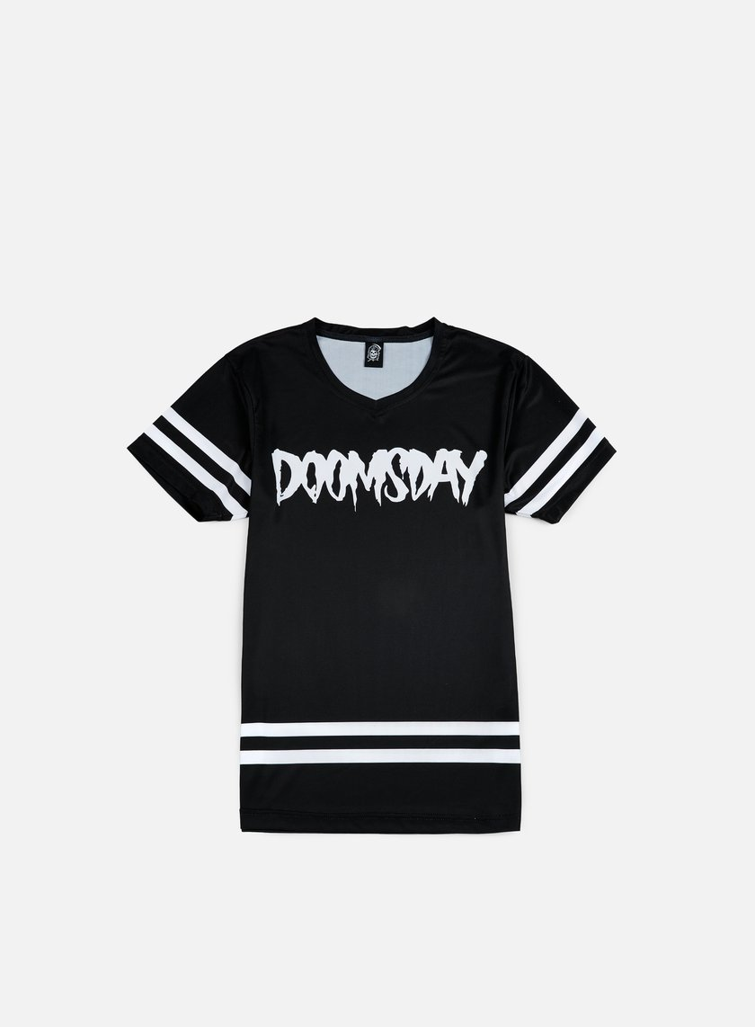 Doomsday - Logo Jersey, Black/White