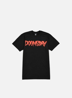 Doomsday - Logo T-shirt, Black/Red 1