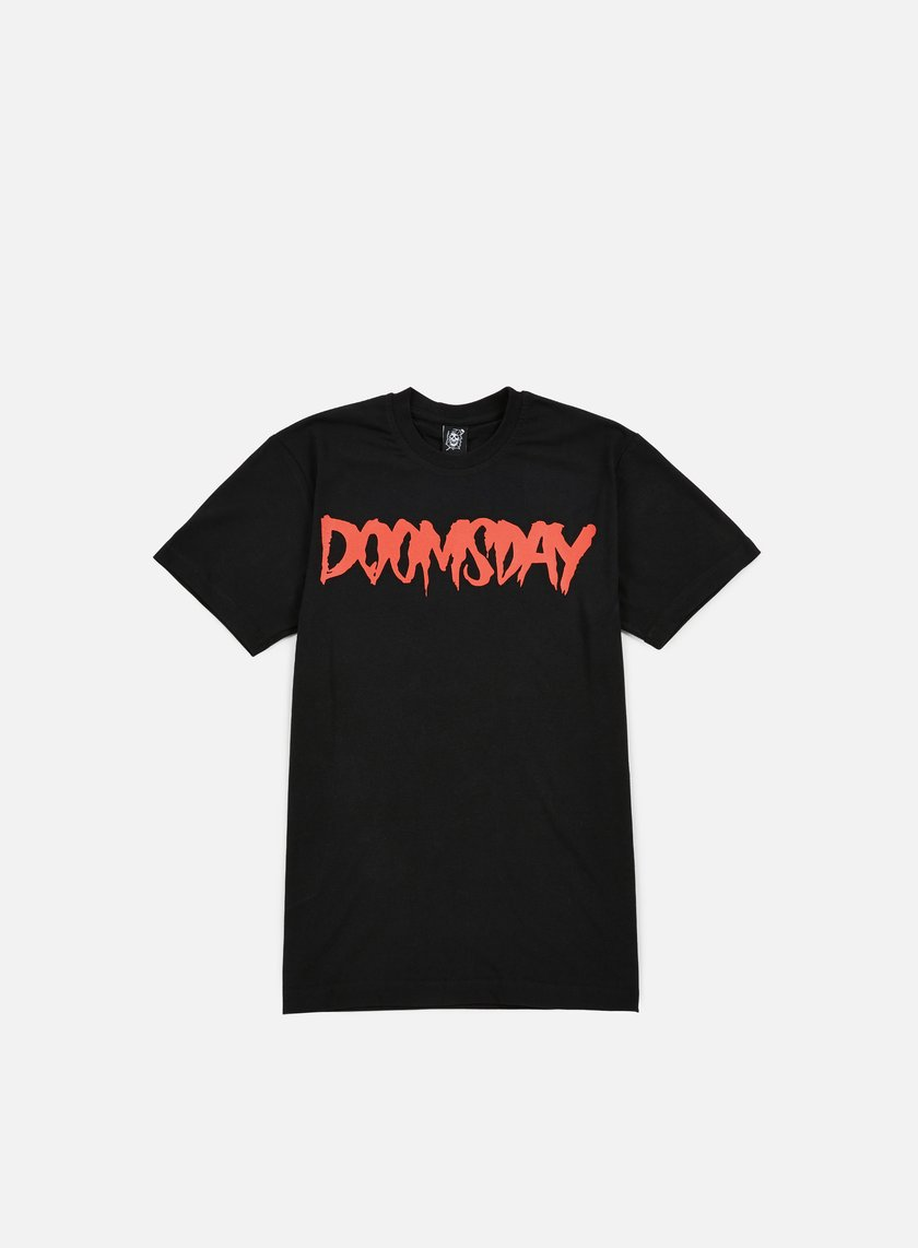 Doomsday - Logo T-shirt, Black/Red