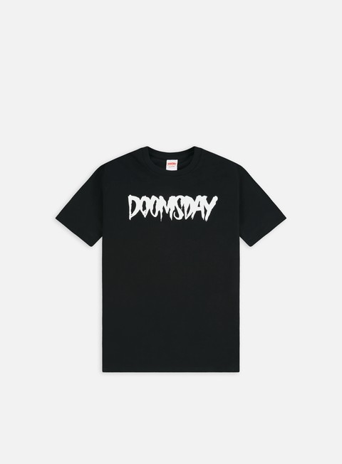 t shirt doomsday logo t shirt black white